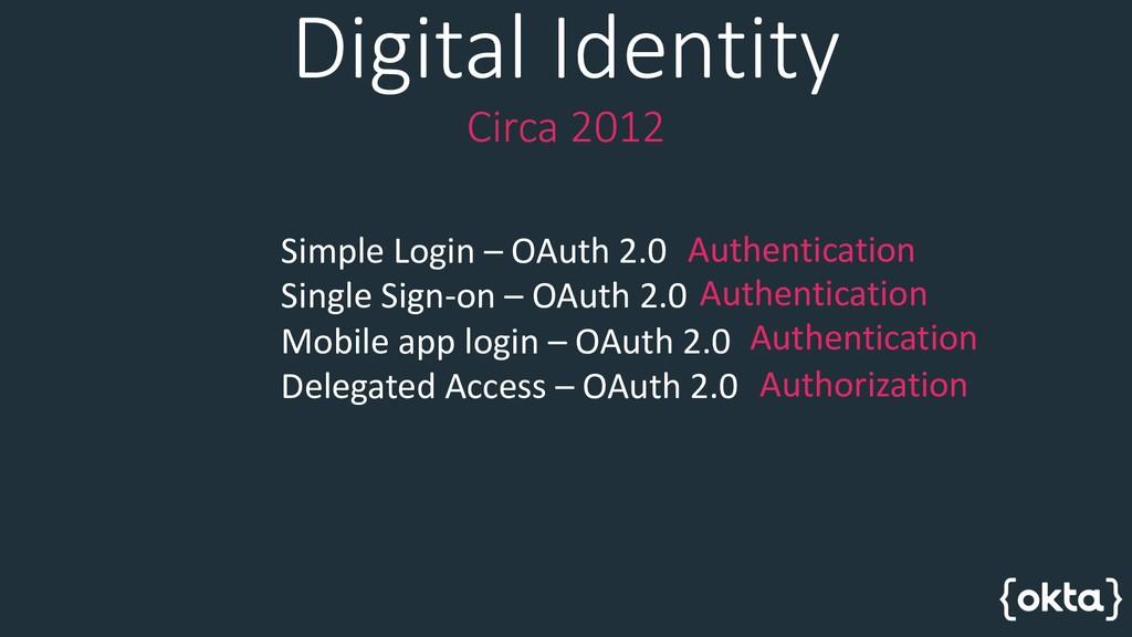 Simple Login – OAuth 2.0 Single Sign-on – OAuth...
