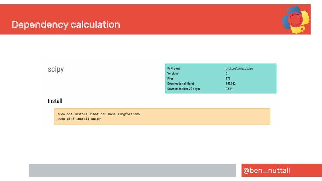 @ben_nuttall Dependency calculation