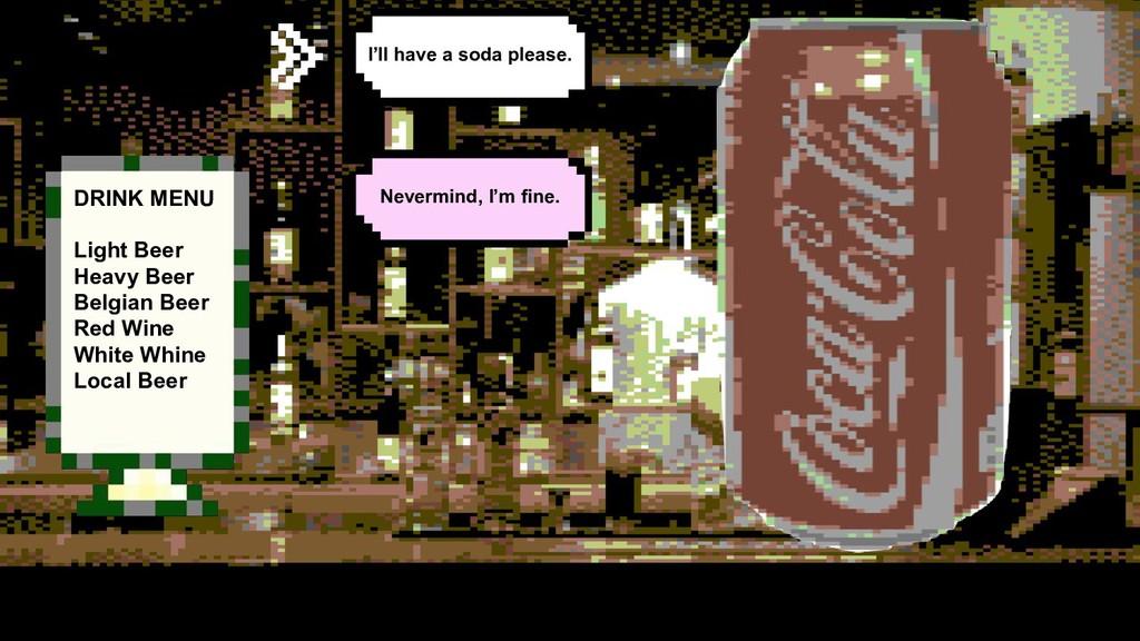 DRINK MENU Light Beer Heavy Beer Belgian Beer R...