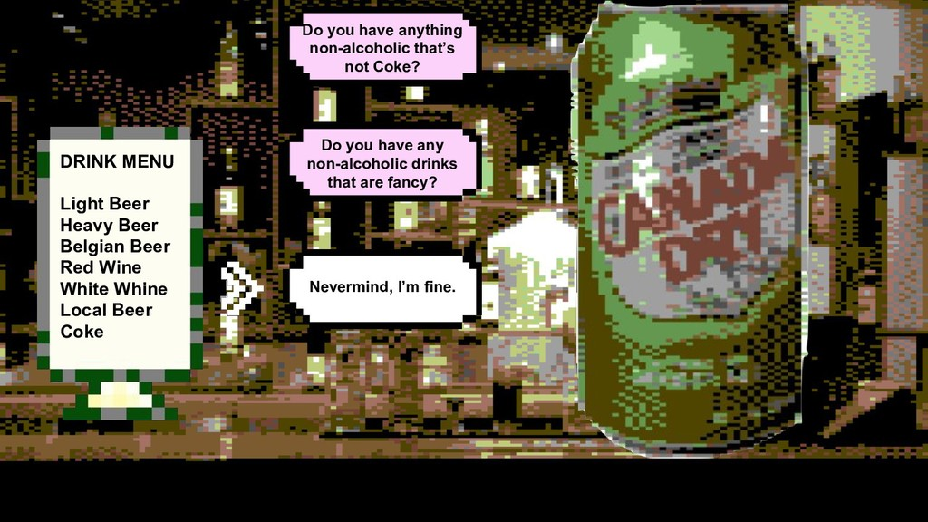 Do you have any non-alcoholic drinks that are f...