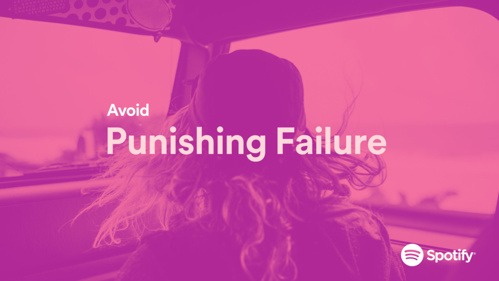 Punishing Failure Avoid