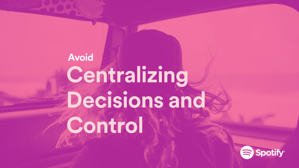 Centralizing Decisions and Control Avoid