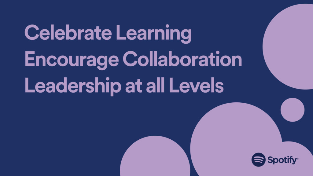 Celebrate Learning Encourage Collaboration Lead...