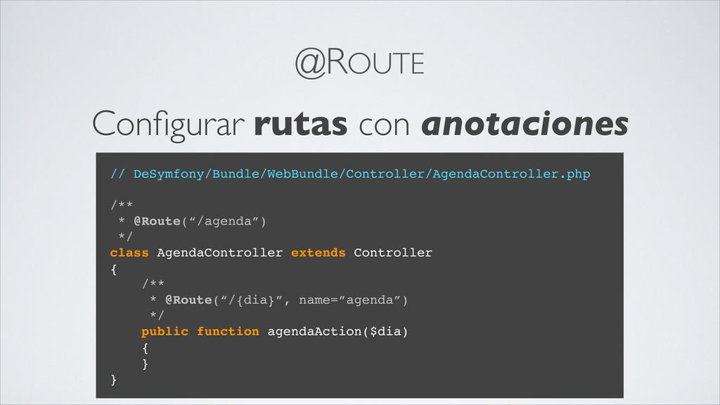@ROUTE Configurar rutas con anotaciones // DeSym...