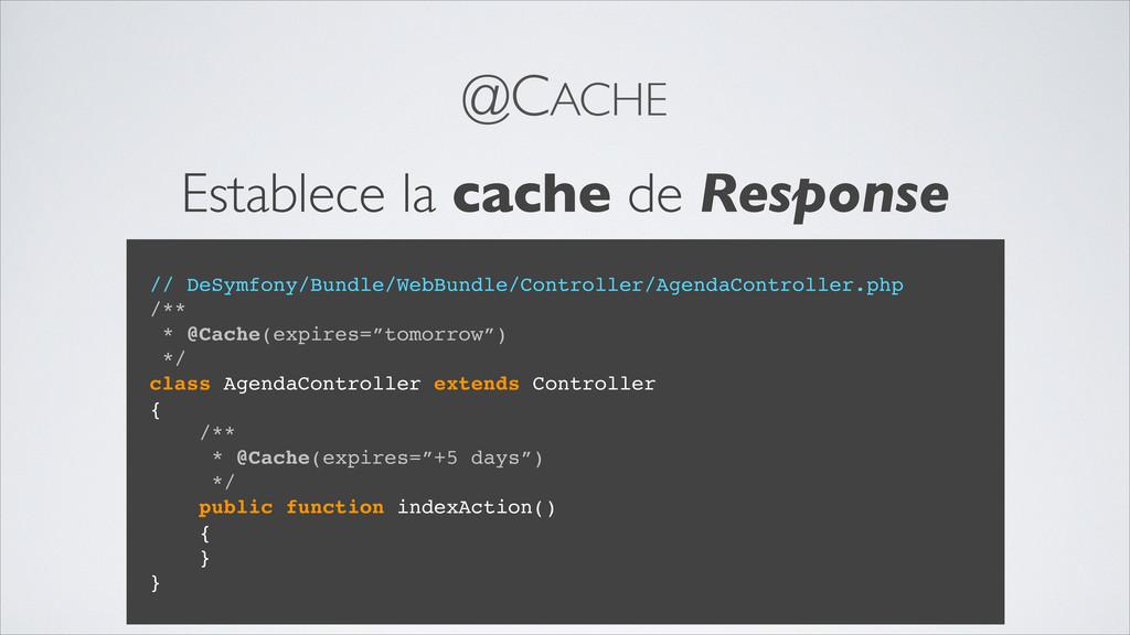 @CACHE // DeSymfony/Bundle/WebBundle/Controller...