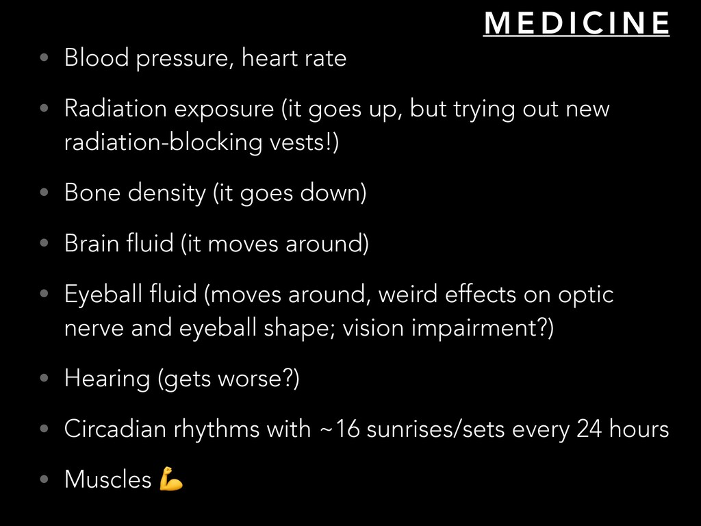 • Blood pressure, heart rate • Radiation exposu...