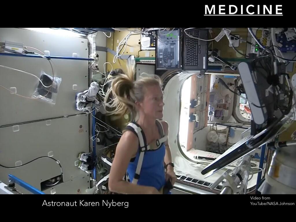 Astronaut Karen Nyberg M E D I C I N E Video fr...