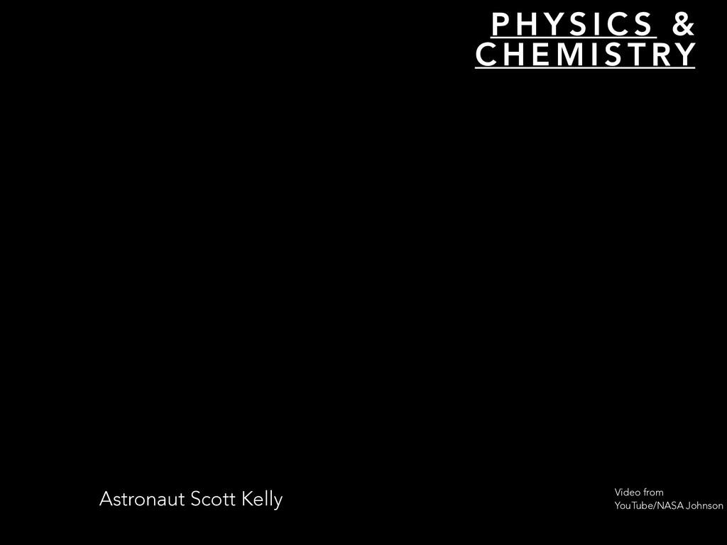 P H Y S I C S & C H E M I S T RY Astronaut Scot...