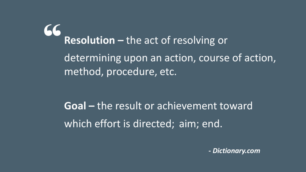 Resolution – the act of resolving or determinin...