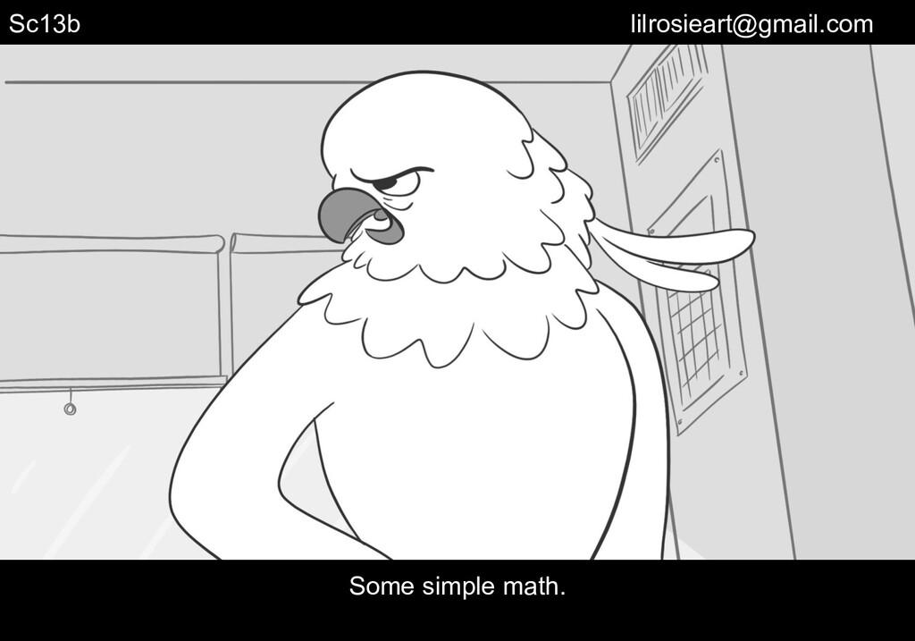 Some simple math. Sc13b lilrosieart@gmail.com