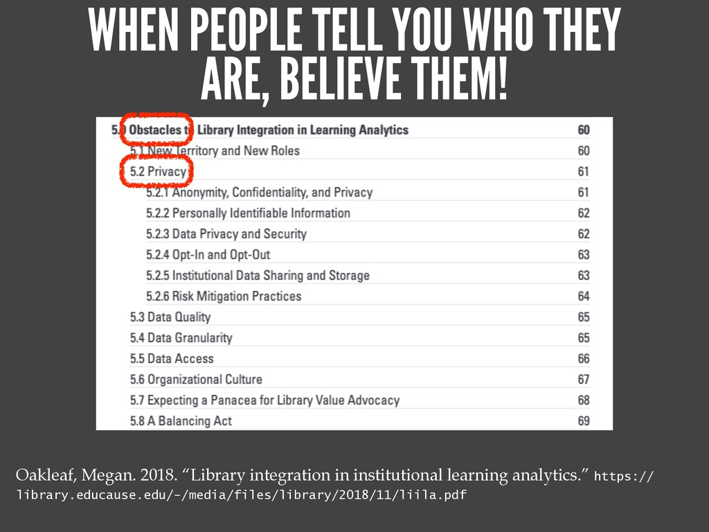 """THIS PROBLEMATIC THING IS A FACT OF LIFE NOW.""..."