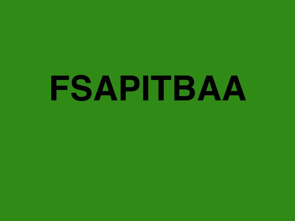 FSAPITBAA