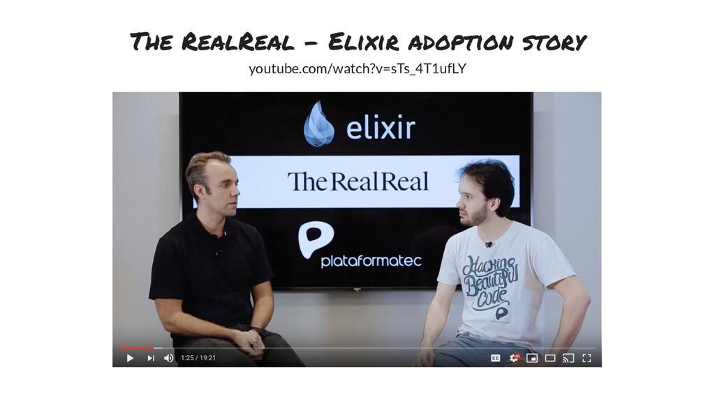 The RealReal - Elixir adoption story youtube.co...