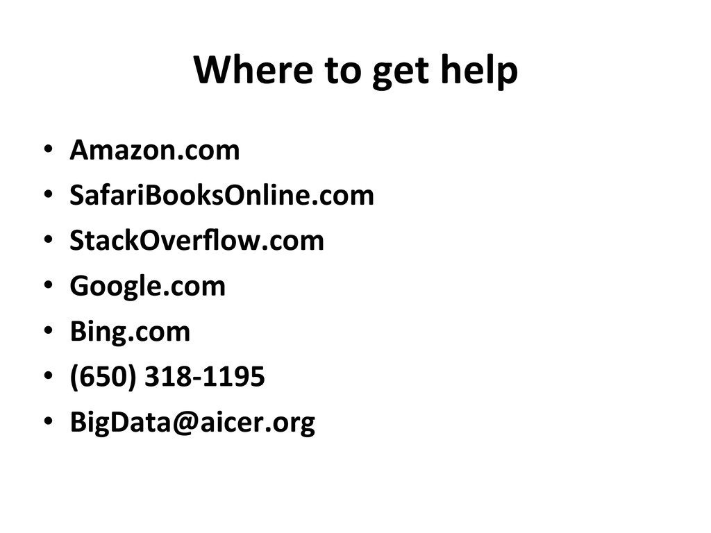Where to get help  • Amazon.com ...