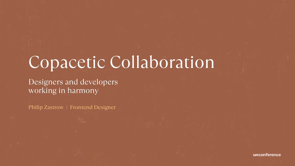 Copacetic Collaboration Designers and developer...