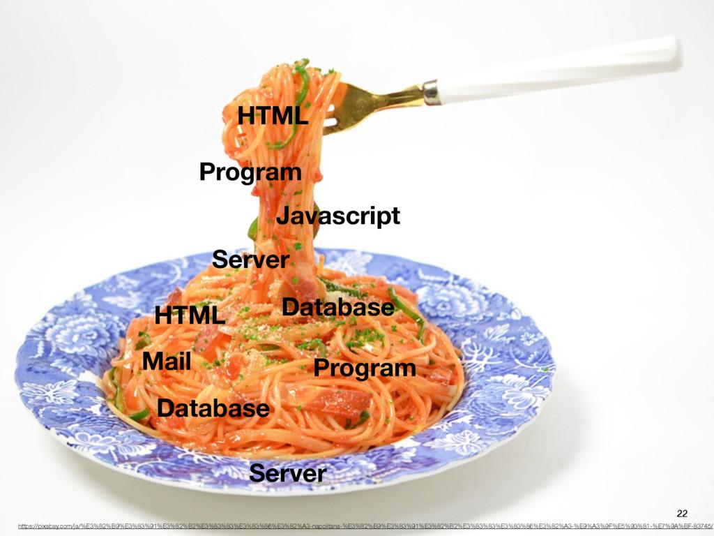 Program HTML Javascript Server Server Database ...