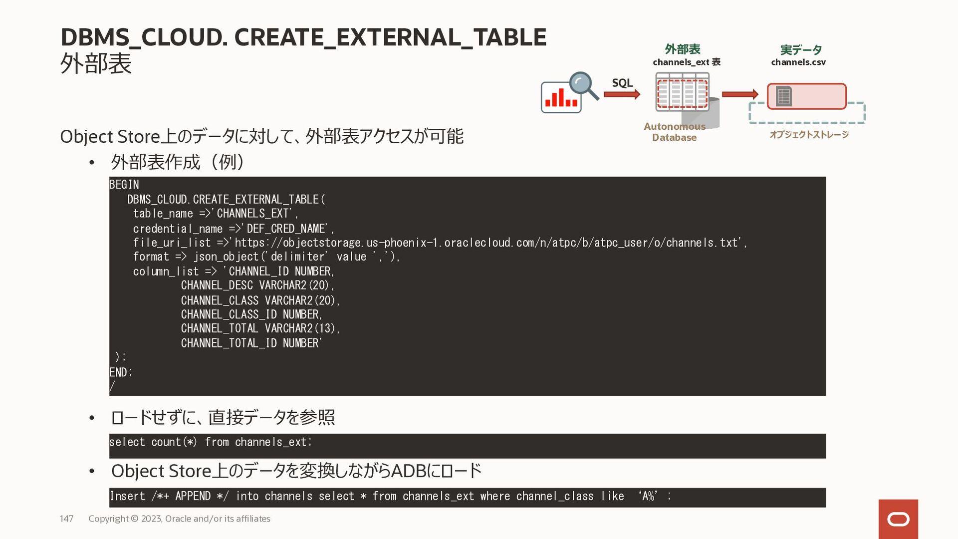 参考) SSHトンネルを利用した接続方法 Copyright © 2020, Oracle a...