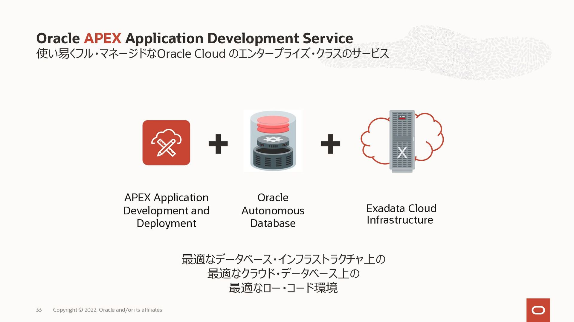 1. Autonomous Database が実現する世界 2. サービス概要 3. ADW...