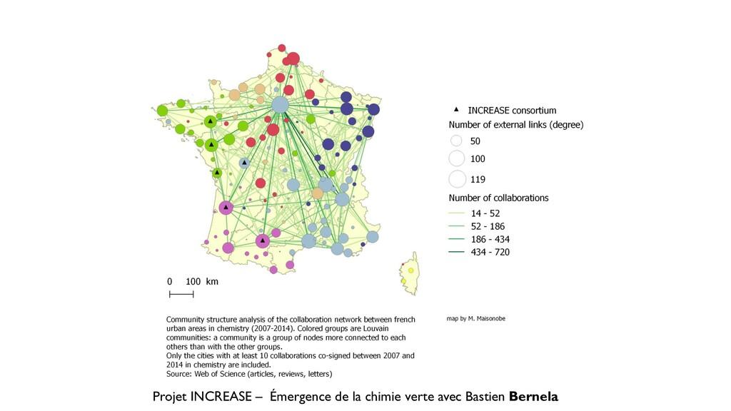 Projet INCREASE – Émergence de la chimie verte ...