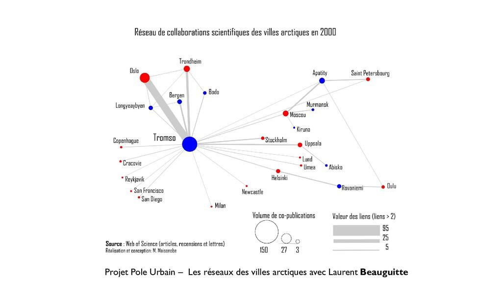 Projet Pole Urbain – Les réseaux des villes arc...