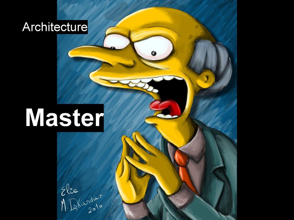 Master Architecture