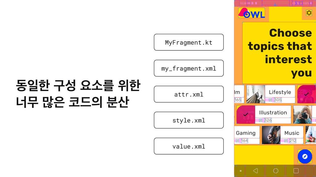 13 MyFragment.kt my_fragment.xml attr.xml style...