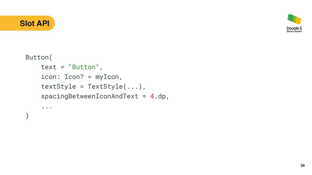 "34 Button(   text = ""Button"",   icon: Icon? = m..."