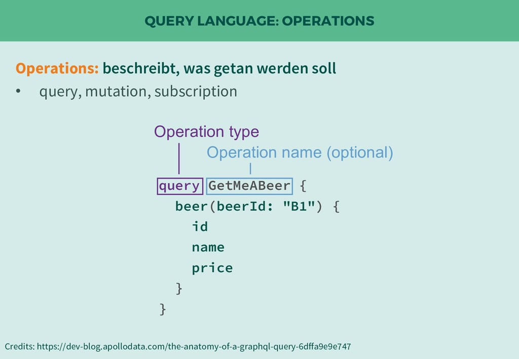 QUERY LANGUAGE: OPERATIONS Credits: https://dev...