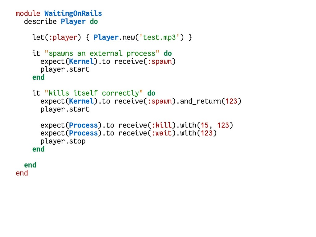 module WaitingOnRails describe Player do let(:p...