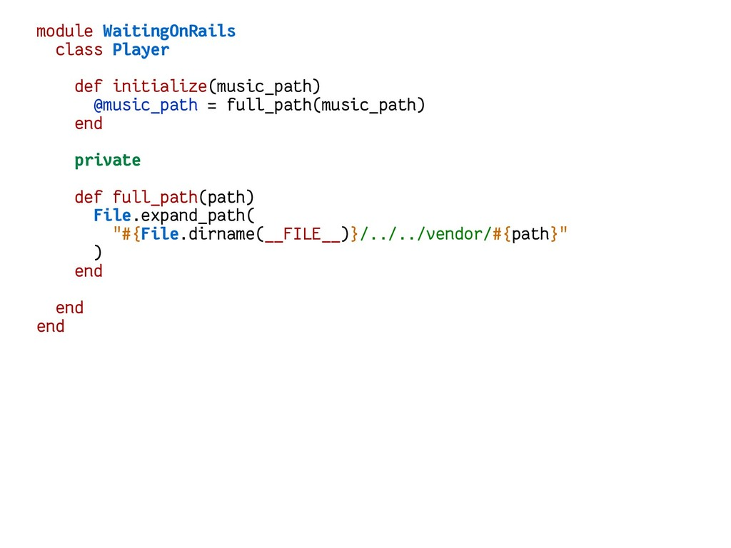 module WaitingOnRails class Player def initiali...