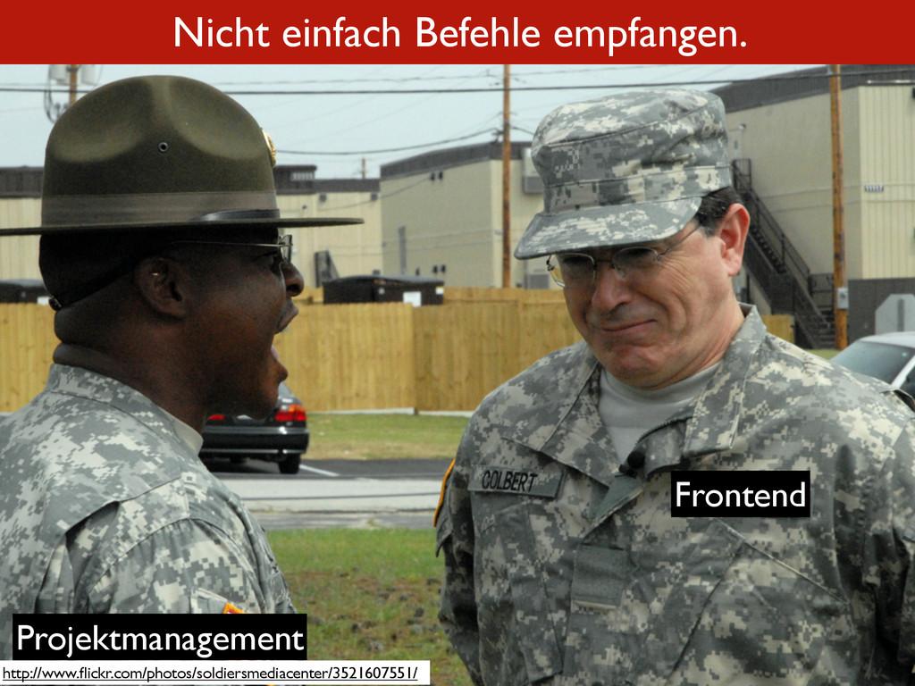 Nicht einfach Befehle empfangen. http://www.flic...
