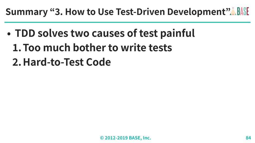 "© - BASE, Inc. Summary "" . How to Use Test-Driv..."