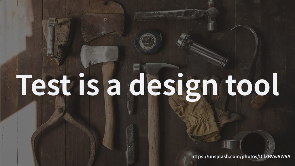 Test is a design tool https://unsplash.com/phot...