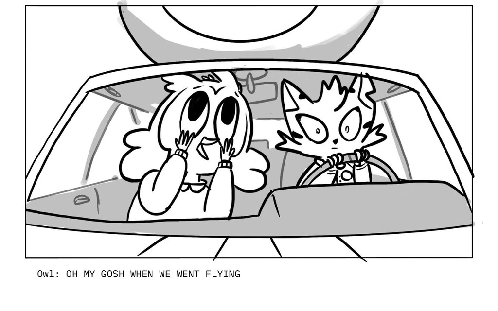 Owl: OH MY GOSH WHEN WE WENT FLYING
