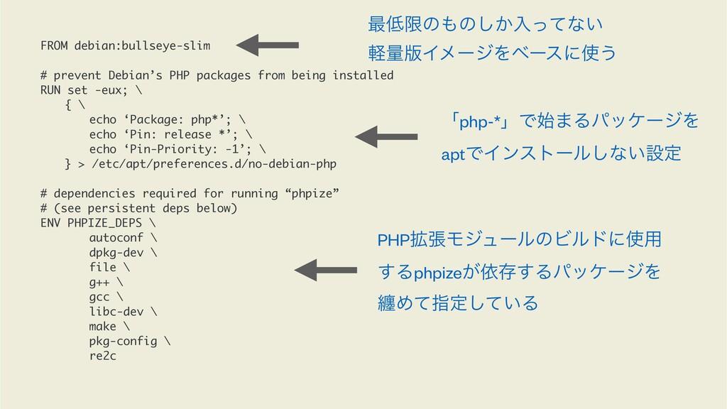 FROM debian:bullseye-slim # prevent Debian's PH...