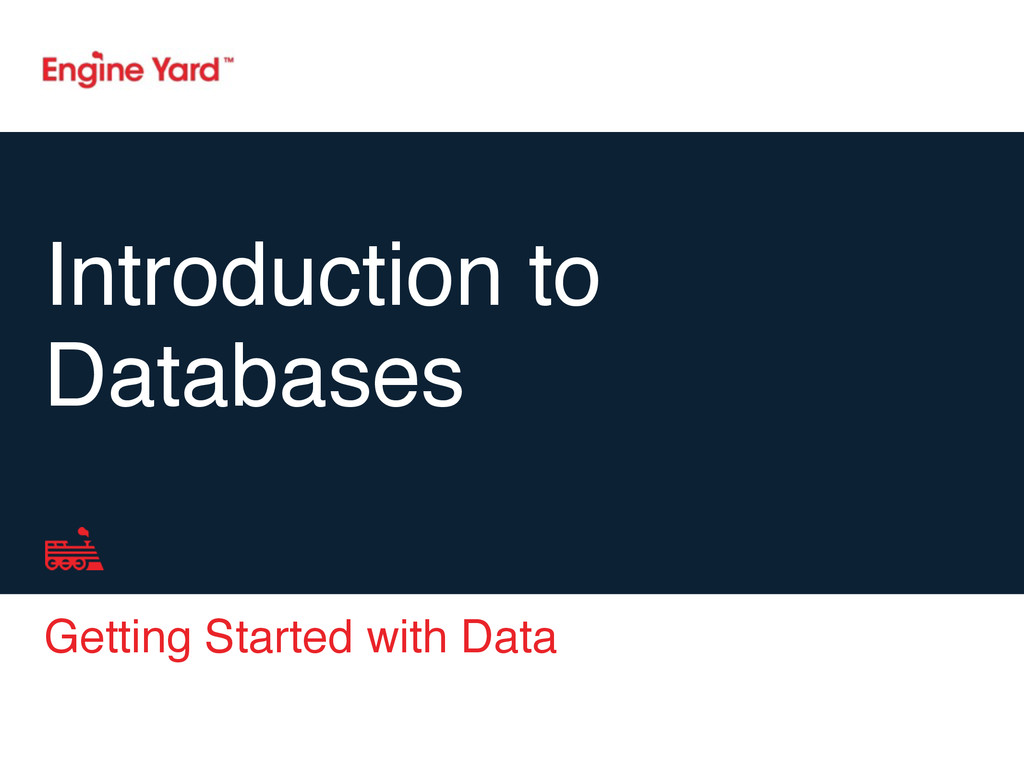 Getting Started with Data Introduction to Datab...