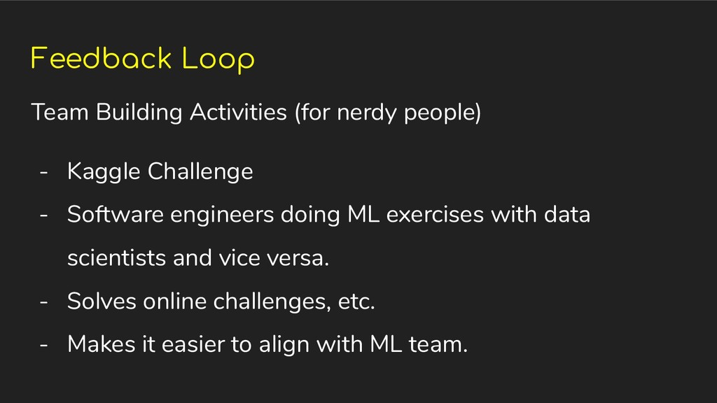 Feedback Loop Team Building Activities (for ner...