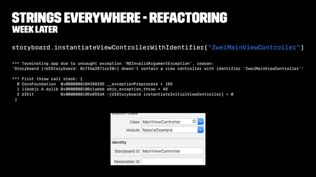 Strings everywhere - refactoring week later sto...
