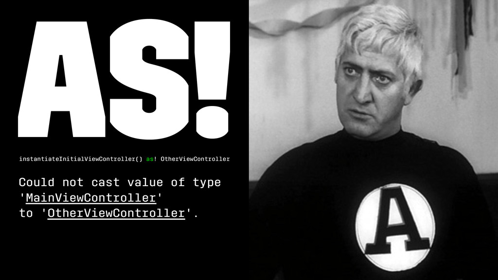 as! instantiateInitialViewController() as! Othe...