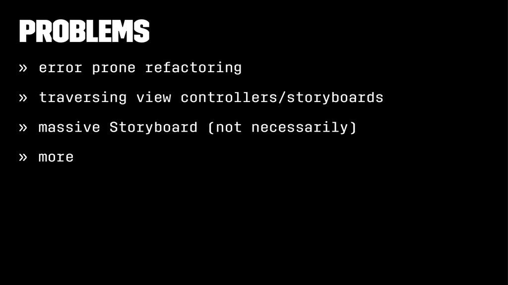 Problems » error prone refactoring » traversing...