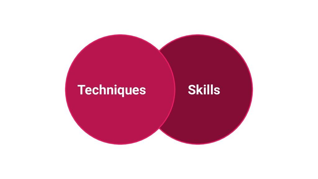 Skills Techniques