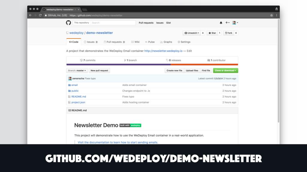 github.com/wedeploy/demo-newsletter