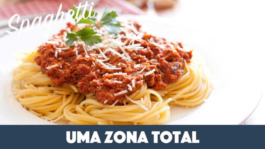 Spaghetti uma zona total
