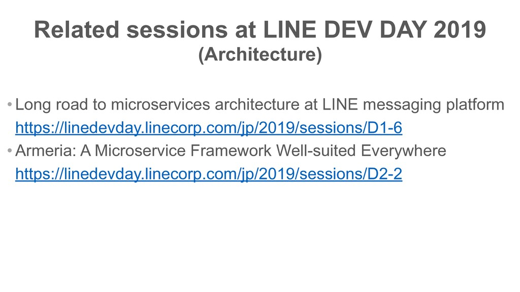 • Long road to microservices architecture at LI...
