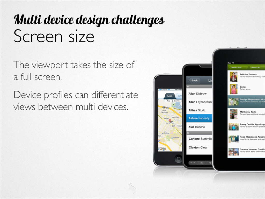 The viewport takes the size of a full screen. ...