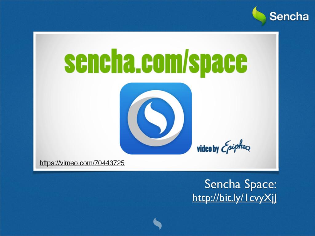 Sencha Space:  http://bit.ly/1cvyXjJ https://...
