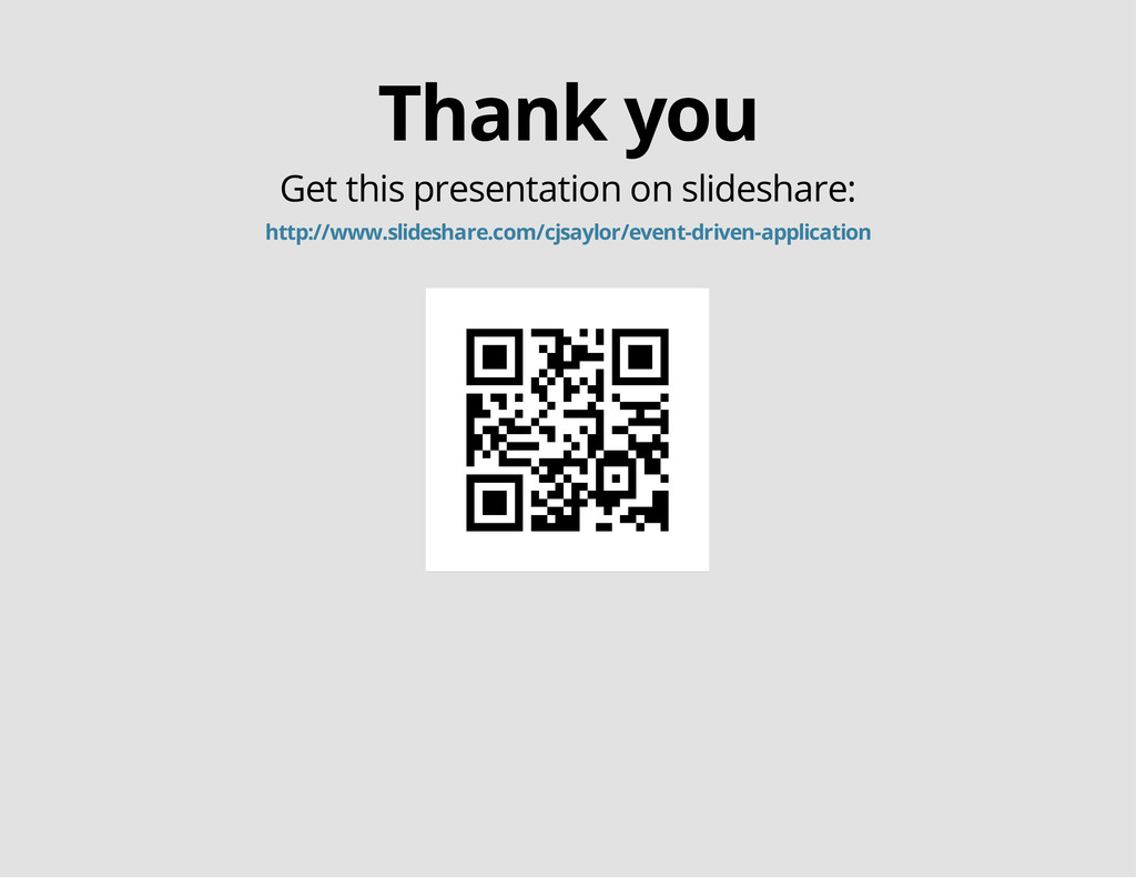 Thank you Get this presentation on slideshare: ...
