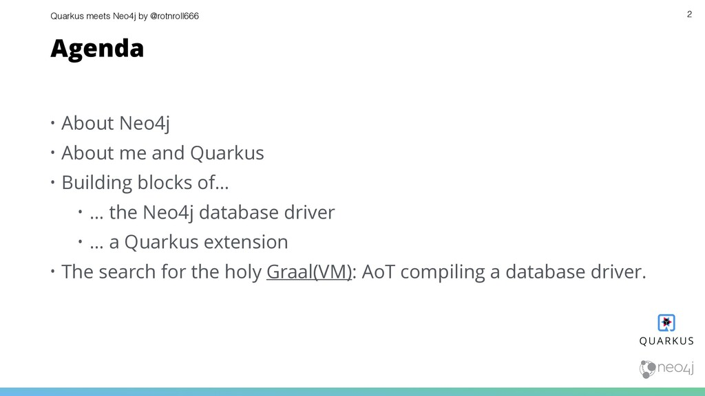Quarkus meets Neo4j by @rotnroll666 • About Neo...