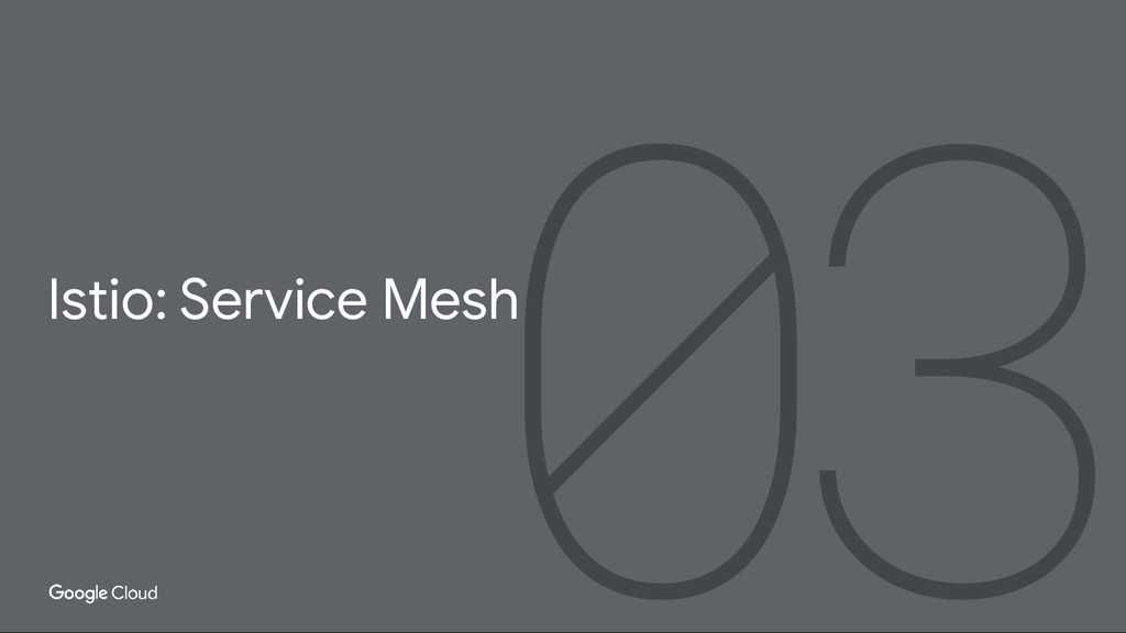 Istio: Service Mesh