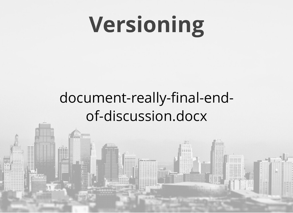 Versioning document-really-final-end- of-discuss...